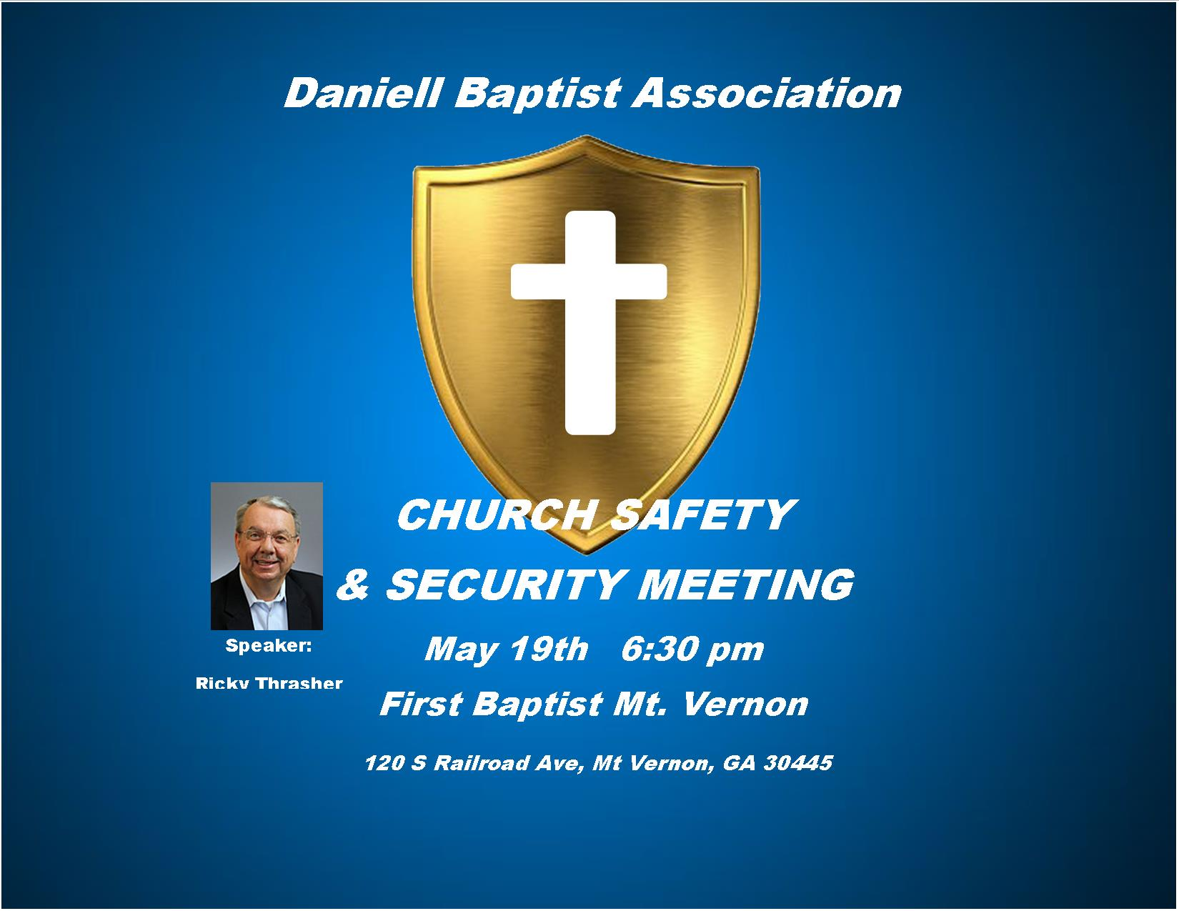 "Church Security <span class=""amp"">&</span> Safety Seminar"